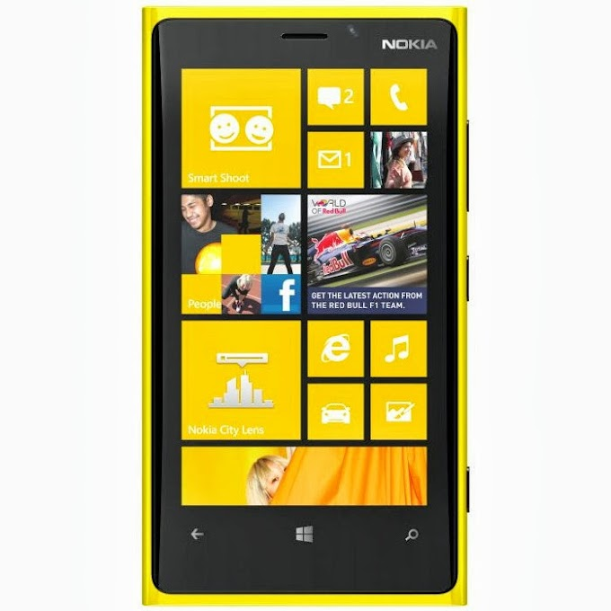 Nokia Lumia 920 running Windows Phone 8.1 shown on video