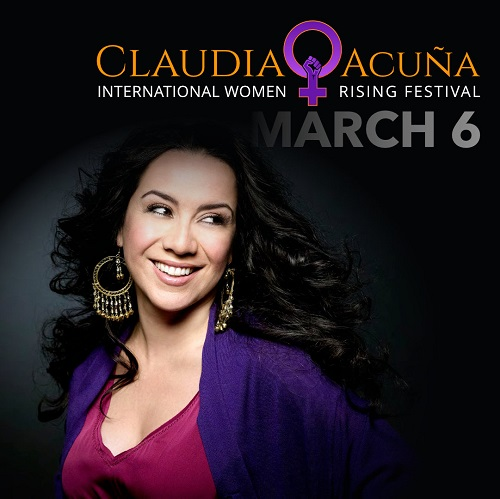 """La artista chilena Claudia Acuña anuncia su recital en streaming """"Celebremos Que Somos Una"""""""