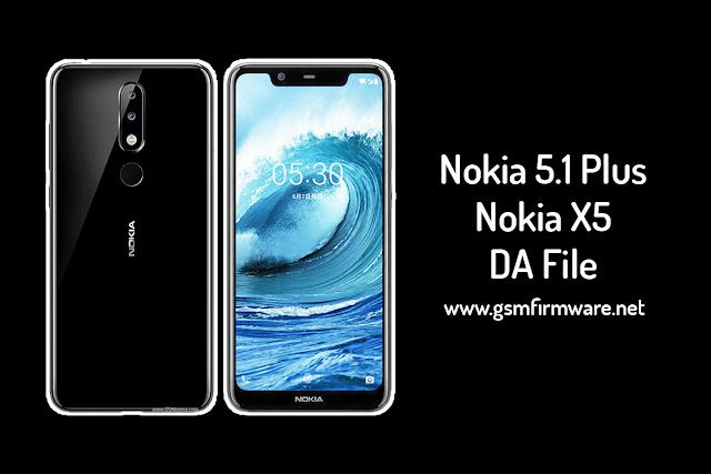 Nokia 5.1 Plus (Nokia X5) MTK DA File [MT6771 Helio P60]