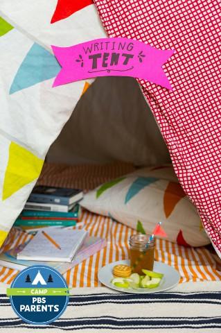 خيمة كتابة
