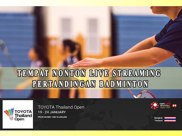 tempat nonton live streaming badminton