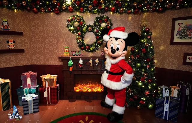 Disney, Disney Parks, A Disney Christmas , A Disney Christmas 2019, HKDL, HK Disneyland, 香港迪士尼樂園, 聖誕節, Santa Mickey
