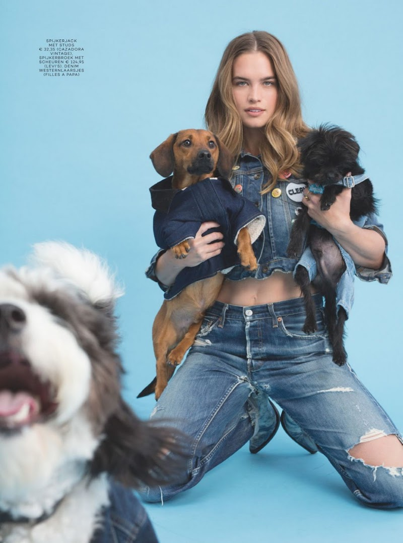 Stormi Bree Henley Featured in Glamour Magazine - Netherlands July 2020