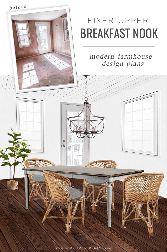 Breakfast nook digital design