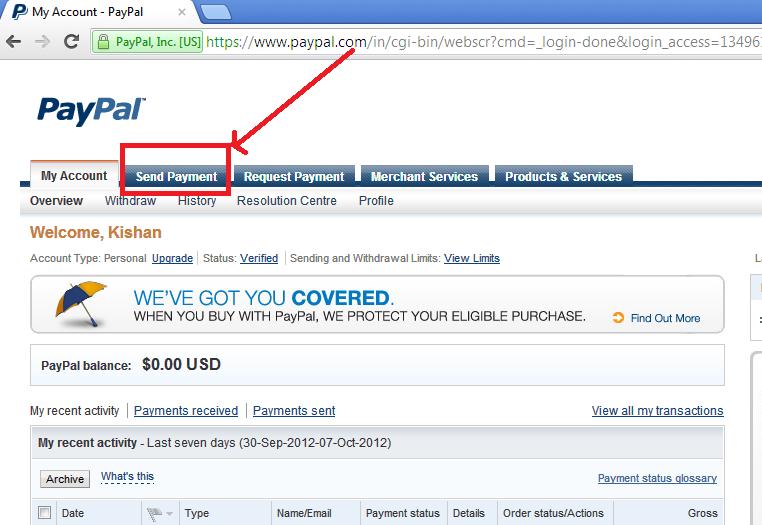 iGoogleDrive: How to send me payment via PayPal