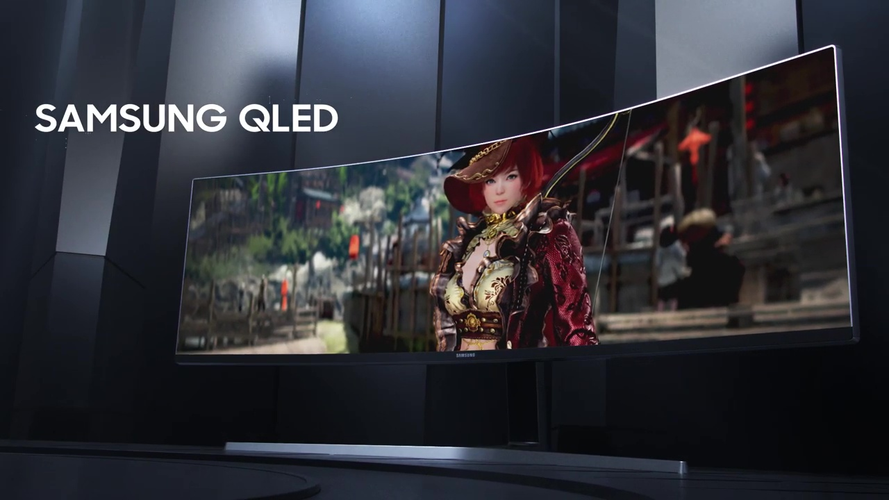 49ʺ QLED Gaming Monitor : CRG9 Feature Video