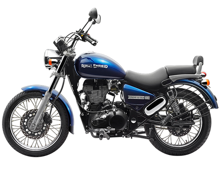 Royal Enfield Thunderbird 500 blue