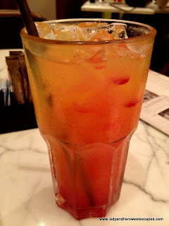Parisian Sunrise Mocktail at Madeleine