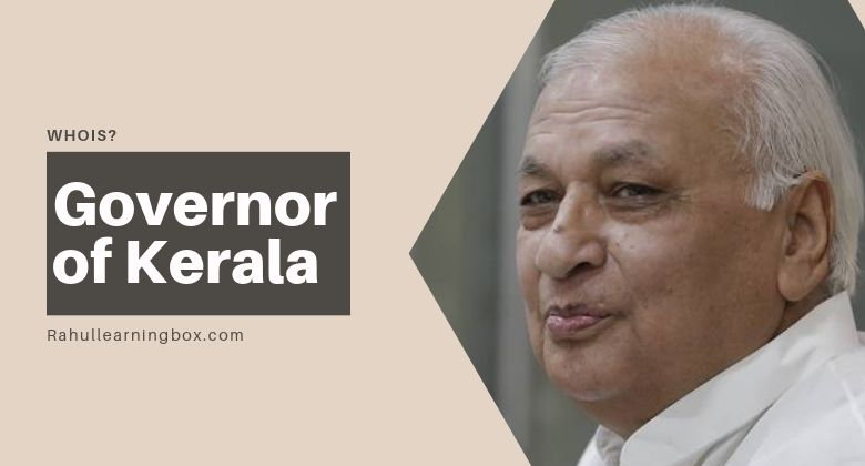 Who is new Governor of Kerala after P Sathasivam