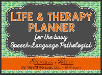 Life & Therapy Planner for SLPs
