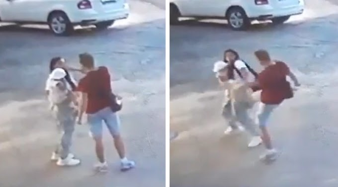 На Львівщині жінку з дитиною на руках жорстоко побив ногами чоловік (відео)