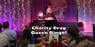 Drag Queen bingo at Hamburger Mary's in Clearwater, Florida for the SPCA