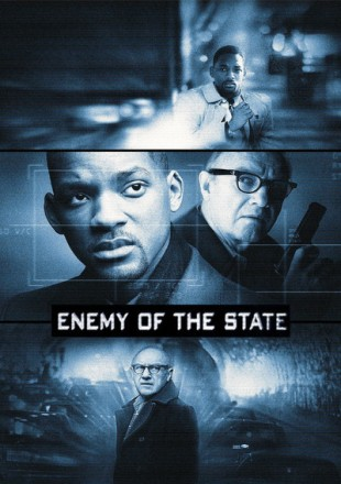 Enemy Of The State 1998 BRRip 480p 300Mb Hindi-English