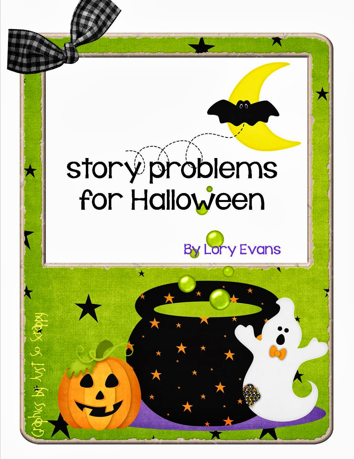 Lory S 2nd Grade Skills Halloween Math Story Problems