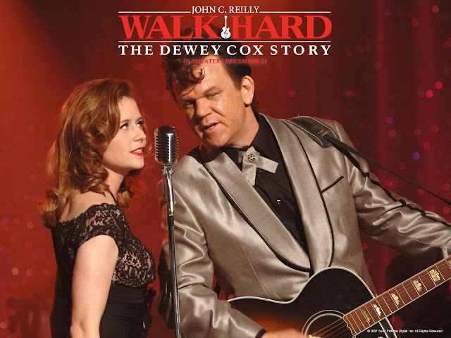 The porno remake of Walk Hard would be called Walk Hard.