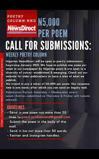 The Nigeria Newsdirect poetry column