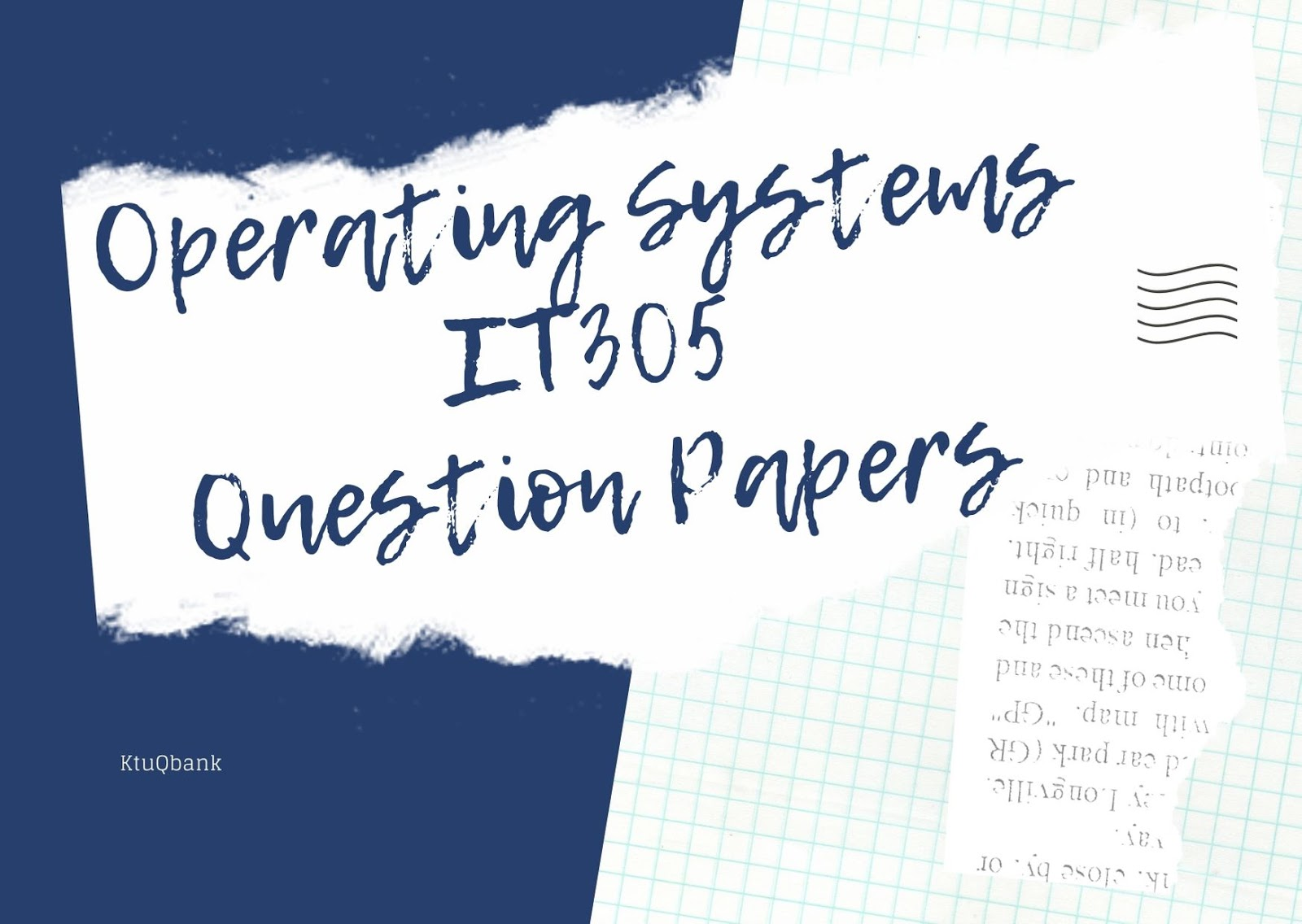 Operating Systems | IT305 | Question Papers (2015 batch)