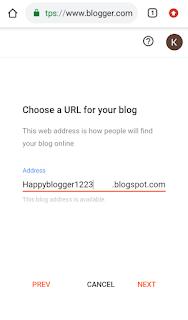 Choosing URL