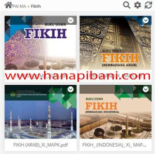 Download Buku Fikih Madrasah Aliyah (MA) Terbaru sesuai KMA Nomor 183 Tahun 2019