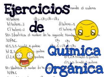 ▷ Ejercicios y Guía de Química Orgánica para PREPARATORIA 2019