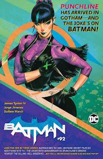 Batman #92 featuring Punchline