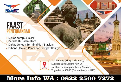 FAAST Jogja Sekolah Penerbangan Terbaik di Kota Yogyakarta