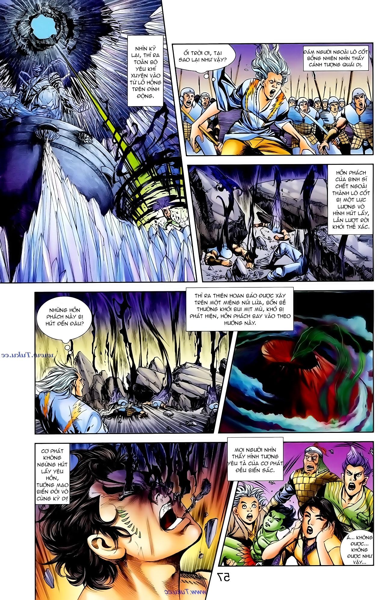 Cơ Phát Khai Chu Bản chapter 100 trang 25