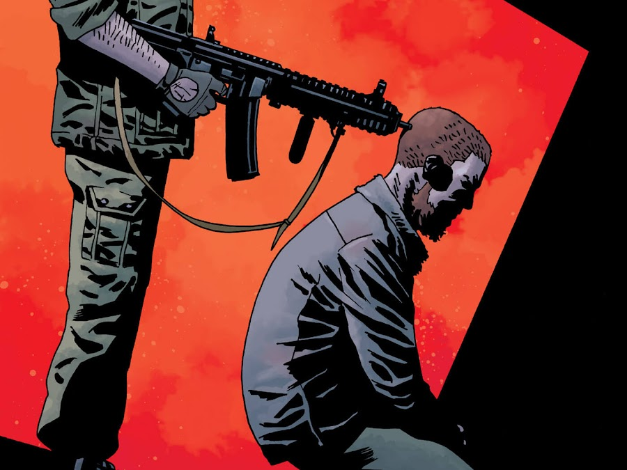 the walking dead lines we cross image comics robert kirkman twd rick grimes dwight