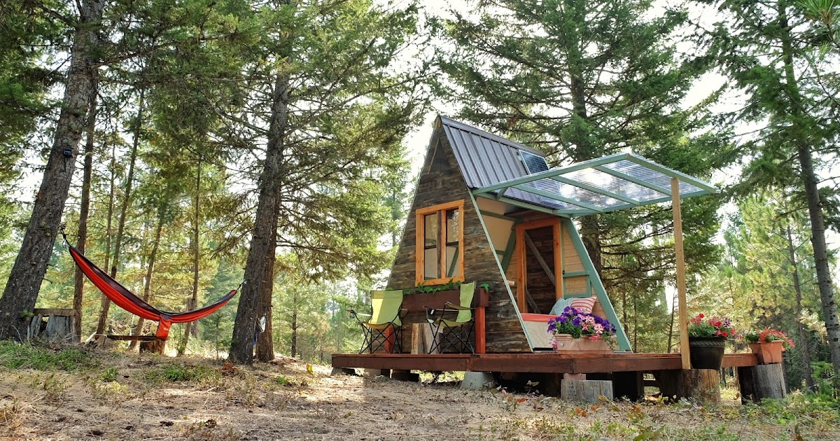 Cheap Cabins To Build Yourself Inexpensive Small Cabin: TINY HOUSE TOWN: A-Frame Cabin That Cost Just $700 To Build