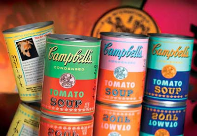 2004 version of Warhol-Inspired Campbell's Soup Cans