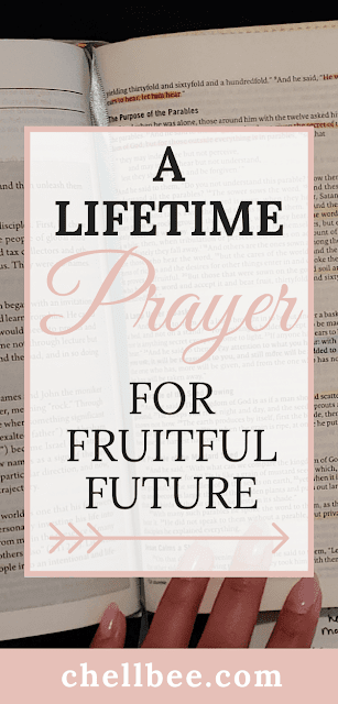 Let us pray for a fruitful future that is rooted in faith and God's will.