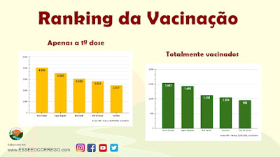 Como está o Ranking da Vacinação