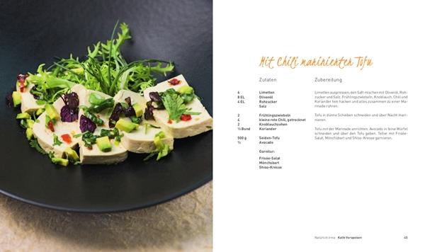 Mit Chili marinierten Tofu aus Natürlich Irma