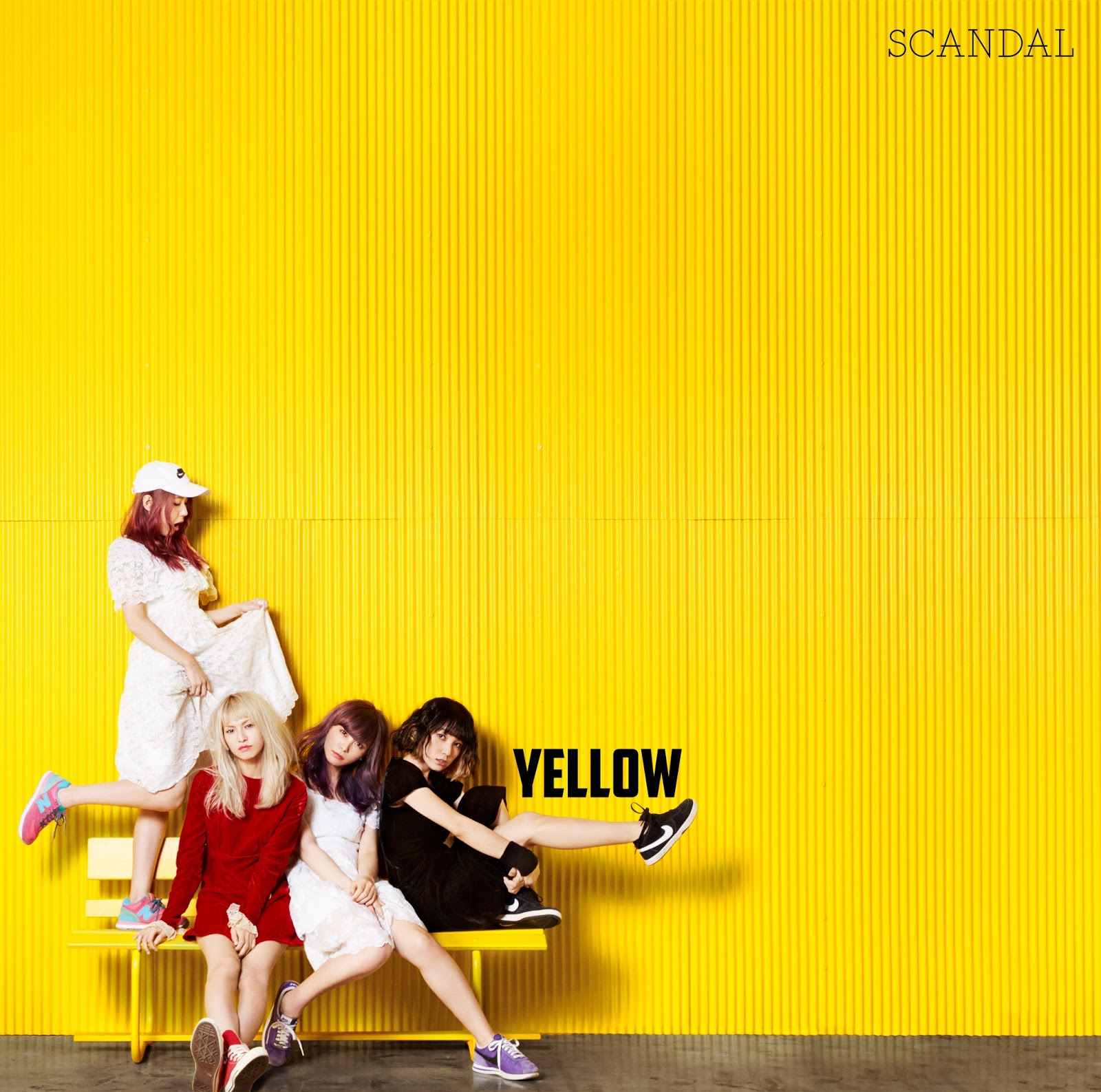 SCANDAL YELLOW New Album 2016