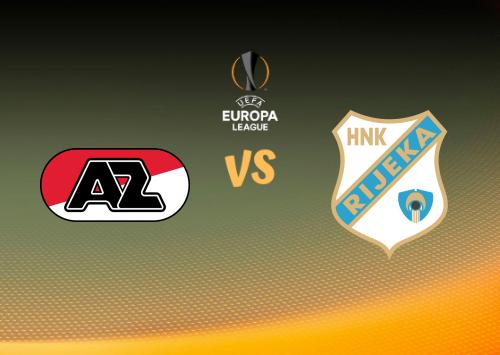 AZ Alkmaar vs Rijeka  Resumen