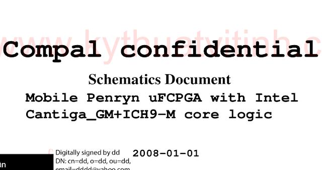 HP_Compaq_CQ40_Intel_Compal_LA-4101P Schematic