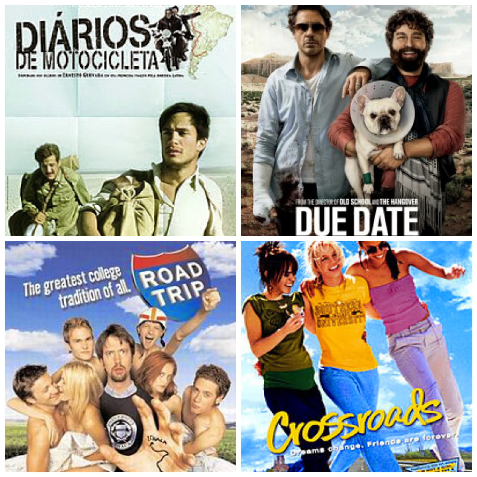 Filmes sobre roadtrip