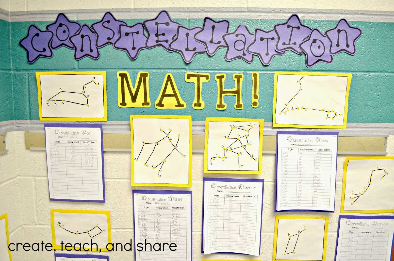 Create Teach And Share Math Meets Astronomy In Room 309