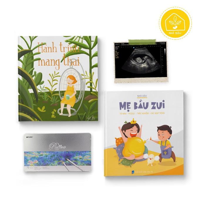 [A116] Mua sỉ sách tô màu cho Bà Bầu - Mẹ Bầu Zui