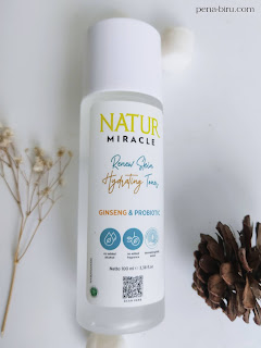 Natur Miracle Renew Skin Hydrating Toner Harga