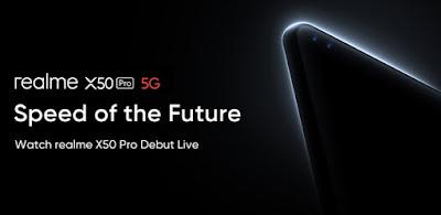 مواصفات هاتف Realme X50 Pro