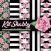 Kit digital shabby chic roses grátis para baixar
