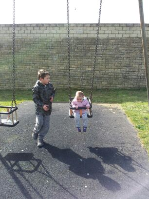 , A walk to the park with #CountryKids