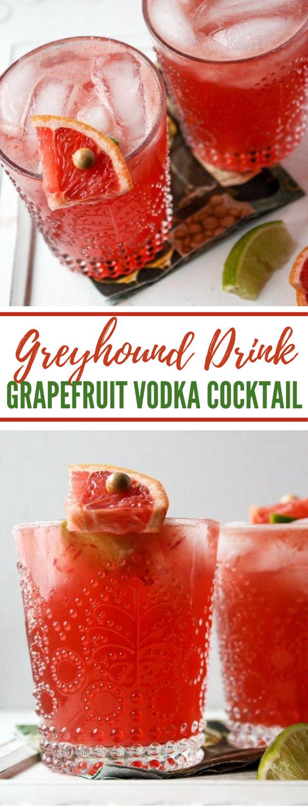 Greyhound Drink- Grapefruit Vodka Cocktail #drinks #freshdrink #cocktails #vodka #partydrink
