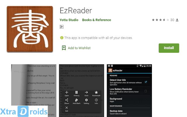 Aplikasi EzReader