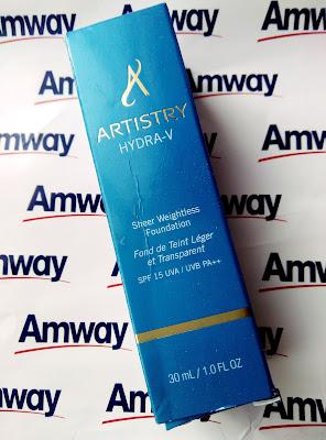 Recenzja: Lekki podkład w płynie ARTISTRY HYDRA-V™- Amway