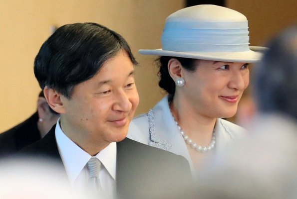 Emperor Naruhito and Empress Masako, Crown Prince Fumihito, Crown Princess Kiko, Princess Mako and Princess Kako