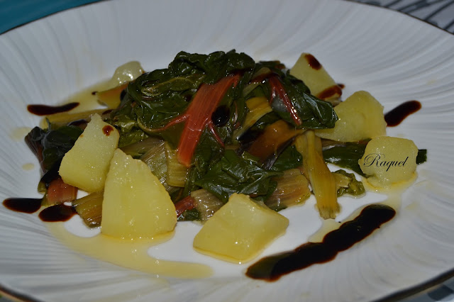 Acelga Roja Cocida Con Patatas Recetas De Cocina
