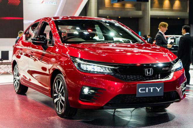 Honda City 2021. Màu đỏ. Mới 99%