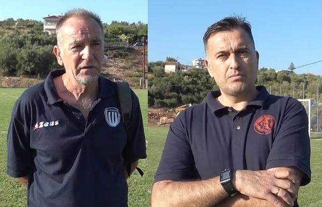 Δείτε στο πιο κάτω βίντεο τι δήλωσαν μετά τον αγώνα στην Βαλανιδοράχη ο προπονητής του Αμβρακικού Βόνιτσας κ. Τάσος Χαντζάρας και ο προπονητής του Απόλλωνα Πάργας κ. Λευτέρης Βέρμπης